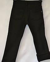 Черные брюки на флисе для мальчика школа Vip Bonis