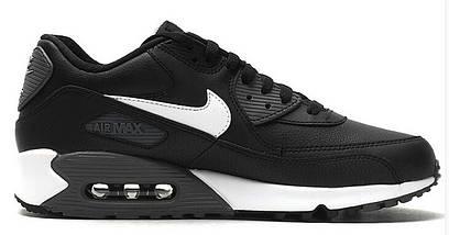Кроссовки мужские в стиле Nike Air Max 90 Premium Leather, фото 3