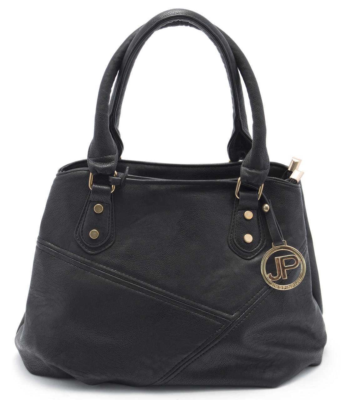 Аккуратная небольшая женская сумочка Б/Н art. 7282 черный цвет