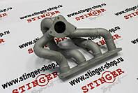 """Турбоколлектор """" Stinger sport"""" толстостенный под турбину TD-05, TD-04 для автомобилей 2101-07 16кл"""