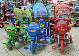 Детские трехколесные велосипеды по низкой цене.