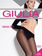 Колготки женские полуматовие 40 den с низкой талией и широкой резинкой ТМ GIULIA