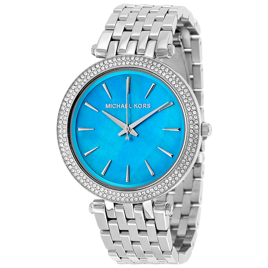Часы Michael Kors Darci Turquoise Mother of Pearl MK3515