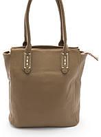 Симпатичная женская сумка светло коричневого цвета Б/Н art. 9042, фото 1