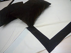 """Комплект покрывало+2 подушки """"Софт - Венге (Полоса)"""