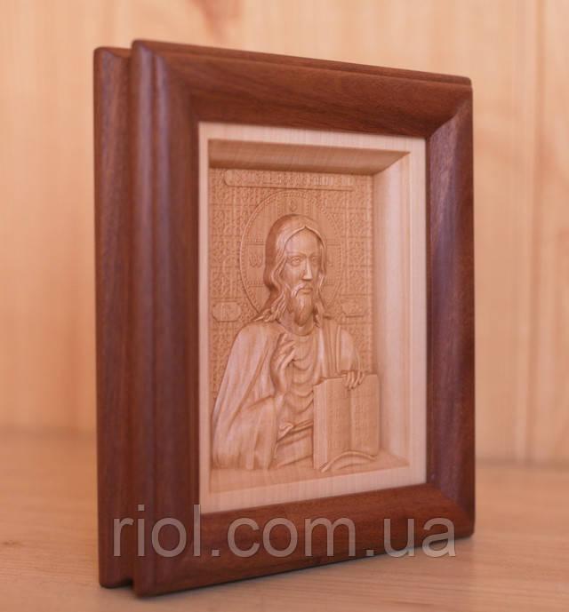 икона деревянная резная