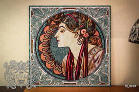 Мозаика на стену из цветного стекла