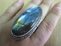 """Огромное кольцо """"Царское"""" с лабрадором, размер 19,2 от студии LadyStyle.Biz"""