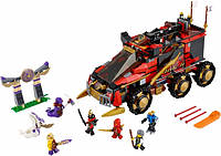 Конструктор Lele Ninja Мобильная база 79143, 788 деталей, транспорт+7 фигурок, 6-12 лет