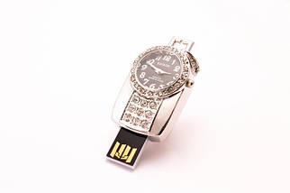 """Флешка Ювелирная """"Часы""""  64 GB , фото 3"""