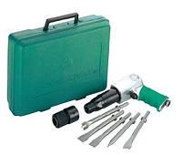 JAH-6833HK Набор пневматического инструмента молоток - 2100 уд/мин 283 л/мин и комплект насадок, 8 предметов