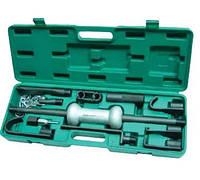 AE310003 Набор для кузовного ремонта (обратный молоток и 9 насадок), 10 пр.