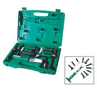 AG010141 Многофункциональный ударный инструмент со сменными насадками, 11 насадок