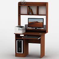 Компьютерный стол с надстройкой, Тиса-12, 95*65, яблоня-локарно