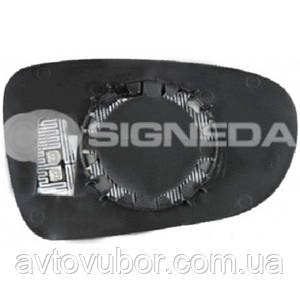 Стекло левого зеркала с подставкой Ford Galaxy 95-00 SFDM1105EL 95VW17K741BA