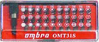 """OMT31S Набор бит 1/4"""" SL;PH;PZ;TORX;HEX +магнитный держатель, пластиковая упаковка, 31ед."""