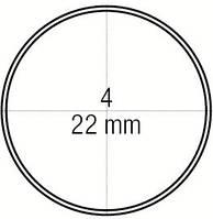 Зеркало стоматологическое вогнутое № 4 увеличивающее диаметр 22 мм, Medesy 4903/4МА