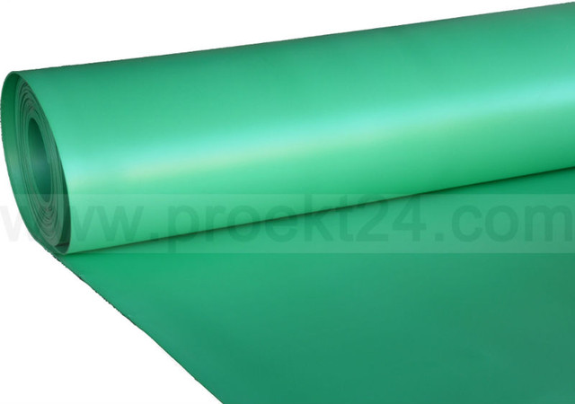 Изолон цветной,зелёный 10 мм