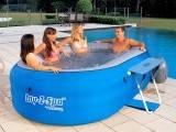 LAY-Z-SPA надувной гидромассажный   бассейн СПА BestWay 54090, фото 1
