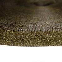 Липучка 20 мм мягкая часть Хаки (23 м)