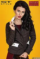 куртка женская короткая на змейке, ткань плащевка, утеплитель синтепон 80 см, 3 расцветки вш № 830