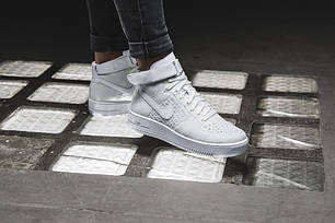 """Кроссовки Nike Air Force 1 Flyknit """"White Pure Platinum""""., фото 2"""