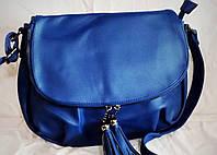 Женская сумка-клатч Little Pigeon синего цвета