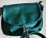 Женская сумка-клатч Little Pigeon зеленого цвета