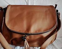Женская сумка-клатч Little Pigeon бежевого цвета