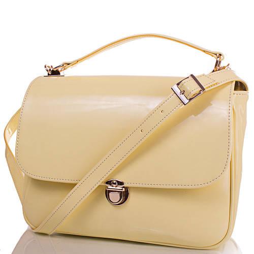 Качественная женская сумка из экокожи EUROPE MOB (ЮЭРОП МОБ) EM0050-11 (желтый)