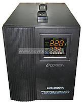 Стабилизатор Luxeon LDS-2500VA (1500Вт) Servo, фото 1