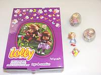 Яйцо пластиковое с Куклой Lolly 12 шт Aras