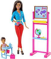 Barbie Игровой набор Барби Никки учитель Careers Teacher Nikki Doll and Playset