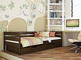 """Односпальная кровать """"Нота"""" из бука (щит, массив), фото 7"""