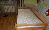 """Односпальная кровать """"Нота"""" из бука (щит, массив), фото 5"""