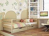 """Односпальная кровать """"Нота"""" из бука (щит, массив), фото 10"""