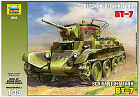Сборная модель Zvezda Советский Танк  БТ-7 (3545)