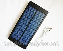 Мобильный power bank 25000mAh c зарядкой от солнечной батареи