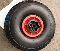 Комплект резиновых колес диаметром 26 см для детского электромобиля без переходников под редуктора
