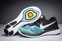Мужские кроссовки Nike Flyknit Lunar 3 Black/Teal