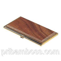 Металлический футляр для визиток