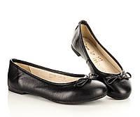 Туфли-балетки черные 30,31,32,33,34,35 рзм. (Д)