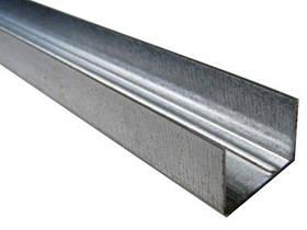 Профиль для гипсокартона UD 27 3 м 0,45 мм
