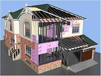 Строительство каркасных (ЛСТК) домов и коттеджей