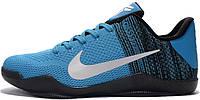 Мужские баскетбольные кроссовки Nike Kobe XI Light Blue, найк коуб