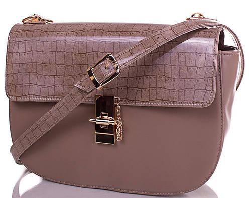 Фантастическая женская сумка из экокожи EUROPE MOB (ЮЭРОП МОБ) EM0036-4-1  (бежевый)