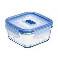 Форма для хранения LUMINARC PURE BOX ACTIVE /квадр./380мл с крышк. (H7675)