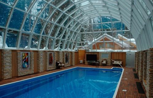 Внутрипольные конвекторы в бассейне (во влажных помещениях)