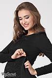 Платье для беременных и кормящих Alen DR-36.101 черное, фото 3