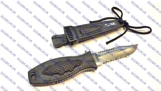 """Нож  BS Diver """" Mini STINGER"""" (420 J2 ss) нерж.сталь в ножнах (для охоты)"""